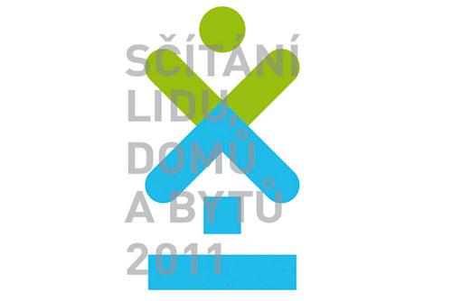 В ходе переписи населения в Чехии пересчитают джедаев и мораван. Логотип переписи населения в Чехии. Изображение с сайта scitani.cz  30 января 2011