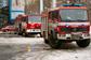 Пражские пожарные станции проведут день открытых дверей. Пожарные машины в Праге  Фото: Василий Мазный  9 февраля 2011