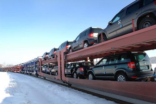 Автоконцерн Škoda Auto начал год с роста продаж на 26,4%. Продажи Škoda Auto в январе выросли. Фото пресс-службы Škoda Auto  10 февраля 2011 года