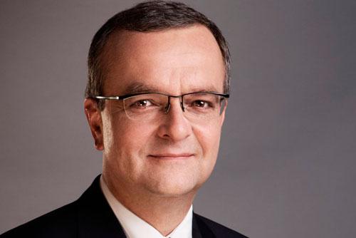 Глава чешского Минфина припугнул СМИ несуществующим компроматом. Министр финансов Чехии Мирослав Калоусек. Фото пресс-службы партии TOP09  10 марта 2011