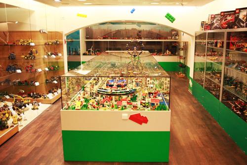 Экспозиция первого частного музея Lego в Праге состоит из более чем миллиона кубиков. В музее Lego в Праге. Фото с сайта muzeumlega.cz  6 апреля 2011