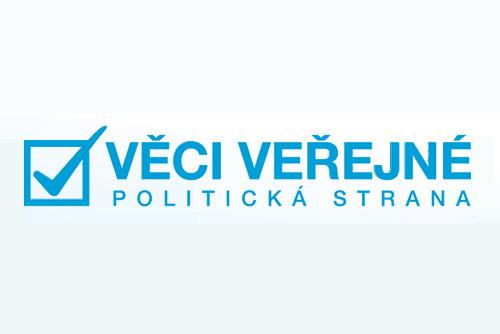 Раскол в чешской правящей коалиции: ODS и TOP09 потребовали отставки всех министров Věcí veřejné. Логотип партии Věcí veřejné.  8 апреля 2011 года