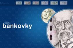 """Национальный банк Чехии """"анимировал"""" кроны ради борьбы с подделками. Раздел с анимированными кронами. Скриншот сайта Национального банка Чехии  26 апреля 2011"""