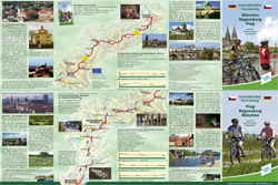 Мюнхен и Прагу связал туристический велосипедный маршрут. Буклет о велосипедном маршруте из Мюнхена в Прагу. Изображение с сайта bavaria.by  15 июня 2011