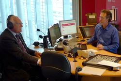 Вацлав Клаус объяснил, что на самом деле произошло в Австралии.  Вацлав Клаус в эфире 720 ABC Perth. Фото c сайта klaus.cz.  27 июля 2011