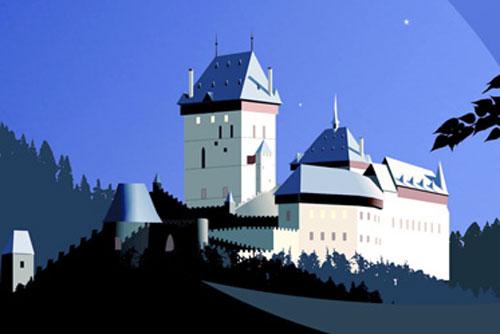 В Чехии 3-4 сентября пройдет Ночь замков и крепостей. Фрагмент изображения с сайта hradozameckanoc.cz  27 августа 2011