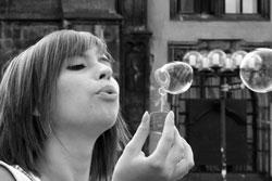 Фотовыставка о пражских красавицах получила продолжение.  Фото Александра Резника.  8 сентября 2011