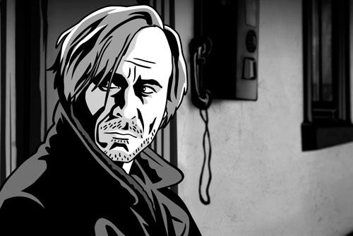Чехия выдвинула на «Оскар» фильм Alois Nebel. Кадр из фильма Alois Nebel. Фото с сайта aloisnebel.cz  26 сентября 2011