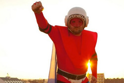 В Праге появился местный супергерой - СуперВацлав.  Пражский герой СуперВацлав. Изображение из блога supervaclav.blogspot.com.  7 октября 2011