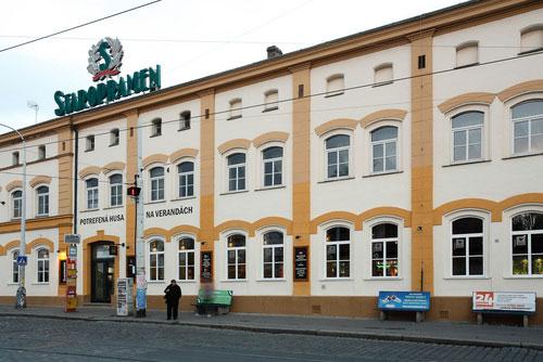 За право купить владельца бренда Staropramen борются несколько концернов. Пивоваренный завод Staropramen в Праге. Фото пресс-службы  23 февраля 2012 года