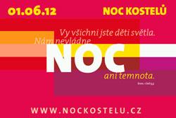 Ночь костелов в Чехии, Австрии и Словакии пройдет 1 июня. Плакат Ночи костелов, подготовленный австрийским дизайнером Верой Ридер  6 апреля 2012