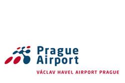 Аэропорт Праги официально получил имя Вацлава Гавела. Логотип аэропорта имени Вацлава Гавела  5 октября 2012