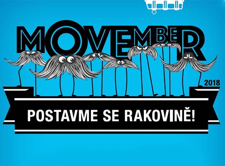 Пражские трамваи «отрастили» ноябрьские усы. Фрагмент плаката dpp.cz  1 ноября 2018 года