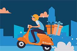 Чешские интернет-магазины будут три дня доставлять заказы бесплатно. Скриншот с сайта dendopravyzdarma.cz  7 ноября 2018