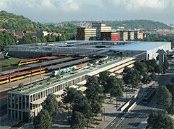 Смиховский вокзал в Праге ждут большие изменения. Визуализация обновленного Смиховского вокзала в Праге. Источник: презентация IPR  9 ноября 2018