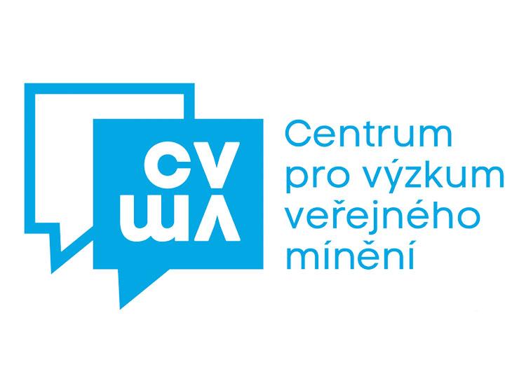 Почти 70% чехов против того, чтобы принять в стране беженцев. Логотип Центра изучения общественного мнения (Centrum pro výzkum veřejného mínění)  9 ноября 2018 года