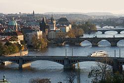 С начала года Прагу посетили почти 6 миллионов туристов. Вид на Карлов мост в Праге  Фото: Prague City Tourism  10 ноября 2018