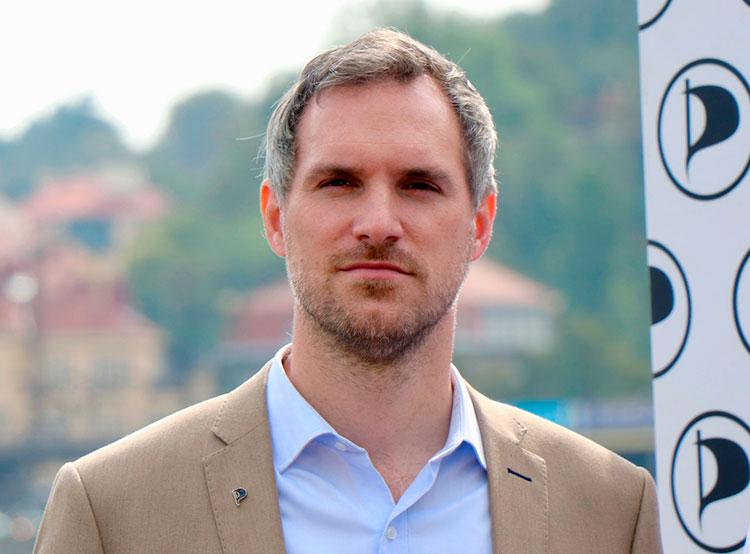 Зденек Гржиб от Пиратской партии избран мэром Праги.  Мэр Праги Зденек Гржиб. Фото Пиратской партии.  15 ноября 2018