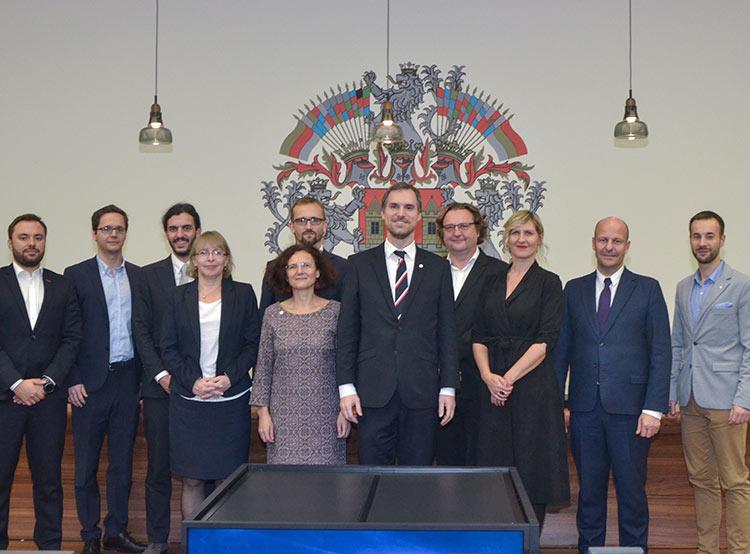Магистрат чешской столицы избрал городской совет в полном составе. Городской совет Праги. Фото пресс-службы магистрата  16 ноября 2018 года