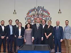 Магистрат чешской столицы избрал городской совет в полном составе. Городской совет Праги. Фото пресс-службы магистрата  16 ноября 2018