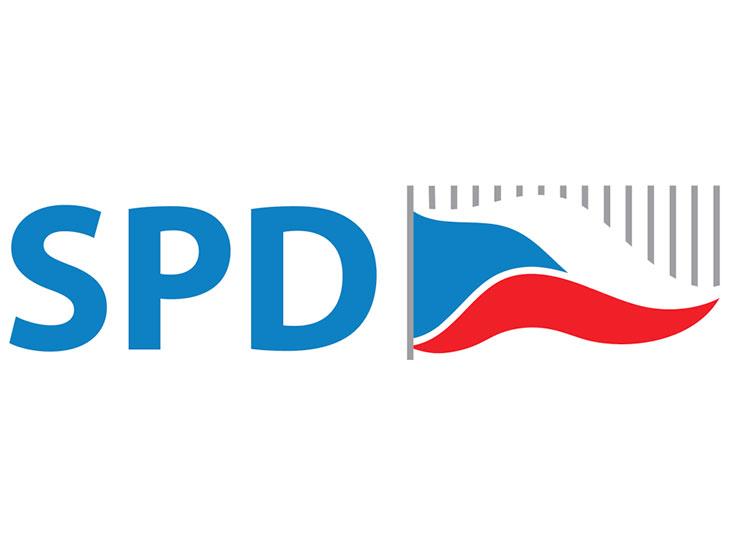 «Депутатская» скидка на суши от вице-спикера чешского парламента оказалась фейком. Логотип партии SPD  20 ноября 2018 года