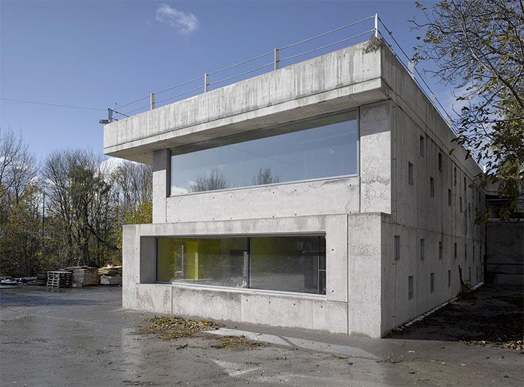 Чешскую архитектурную премию получило административное здание из легкого бетона. Здание, завоевавшее Гран-при. Фото Filip Šlapal, Česká cena za architekturu  20 ноября 2018 года