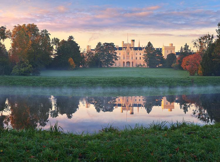 Названы самые популярные чешские крепости, замки и дворцы. Замок Леднице  Фото: Czech Tourism  21 ноября 2018 года