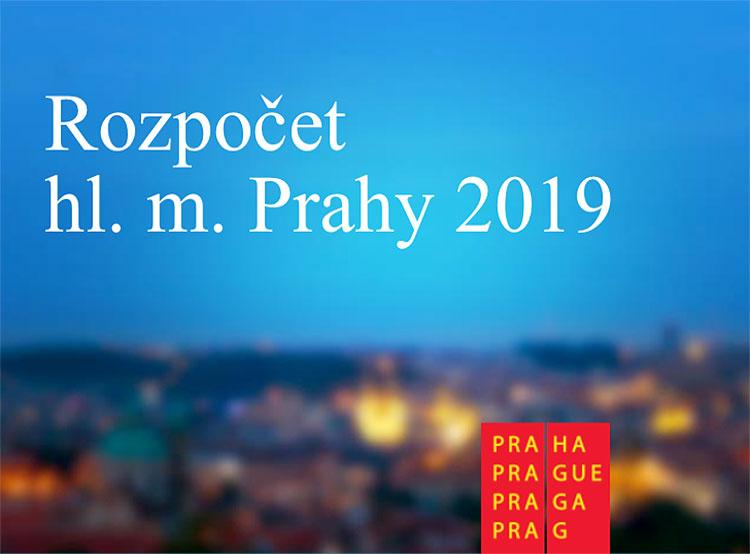 Прага утвердила дефицитный бюджет на 2019 год. Обложка презентации проекта бюджета Праги  27 ноября 2018 года