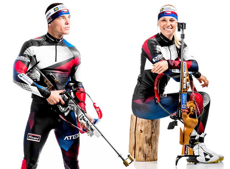 Чешская сборная по биатлону получила новую форму. Новая форма сборной Чехии по биатлону. Фото Petr Slavik / Český biatlon  28 ноября 2018 года