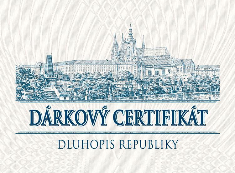 Чехия впервые за четыре года выпустила государственные облигации для физлиц. Фрагмент подарочного сертификата к новым государственным облигациям. Фото mfcr.cz  28 ноября 2018 года