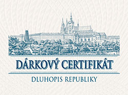 Чехия впервые за четыре года выпустила государственные облигации для физлиц. Фрагмент подарочного сертификата к новым государственным облигациям. Фото mfcr.cz  28 ноября 2018