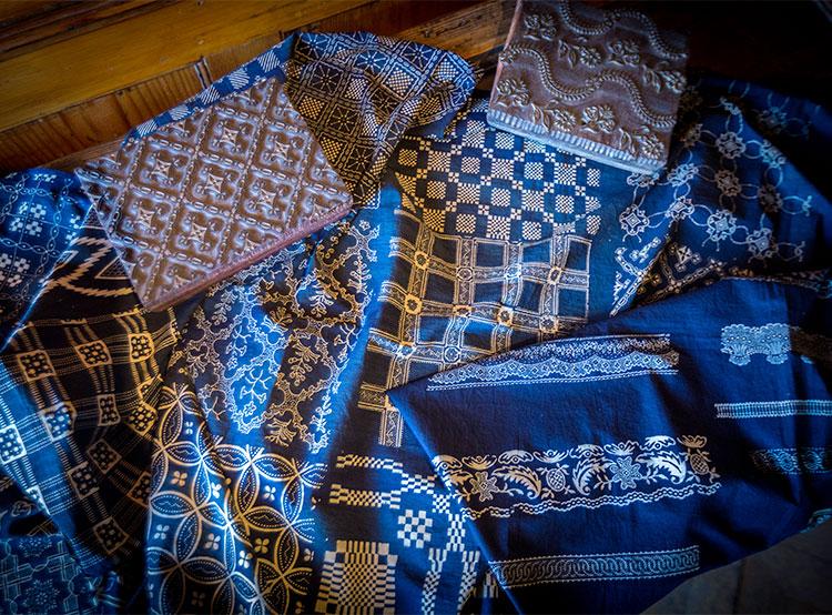 Чешский народный промысел внесен в Список объектов нематериального наследия ЮНЕСКО. Блаудрук, он же modrotisk. © Claude Truong-Ngoc / Wikimedia Commons  28 ноября 2018 года