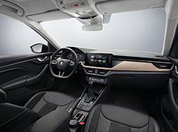 Škoda Auto показала фотографии интерьера своей новой модели Scala. Интерьер ŠKODA SCALA  29 ноября 2018
