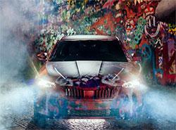 Новую Škoda Scala раскрасили у стены Джона Леннона в Праге. Фото и видео. Škoda Scala у стены Джона Леннона. Фото пресс-службы компании  30 ноября 2018
