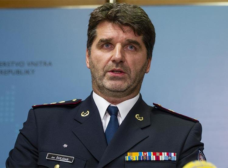 Чешская полиция получила нового президента. Новый президент чешской полиции полковник Ян Швейдар  Фото: Policie ČR  30 ноября 2018 года