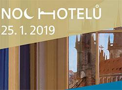 Бронирование номеров в рамках третьей Ночи отелей в Чехии стартует 3 декабря . Фрагмент баннера акции  Фото: Prague City Tourism  2 декабря 2018