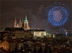 Новогодний фейерверк в Праге пройдет под музыку Beatles и Rolling Stones. Новогодний салют в Праге  Фото: Prague City Tourism  7 декабря 2018