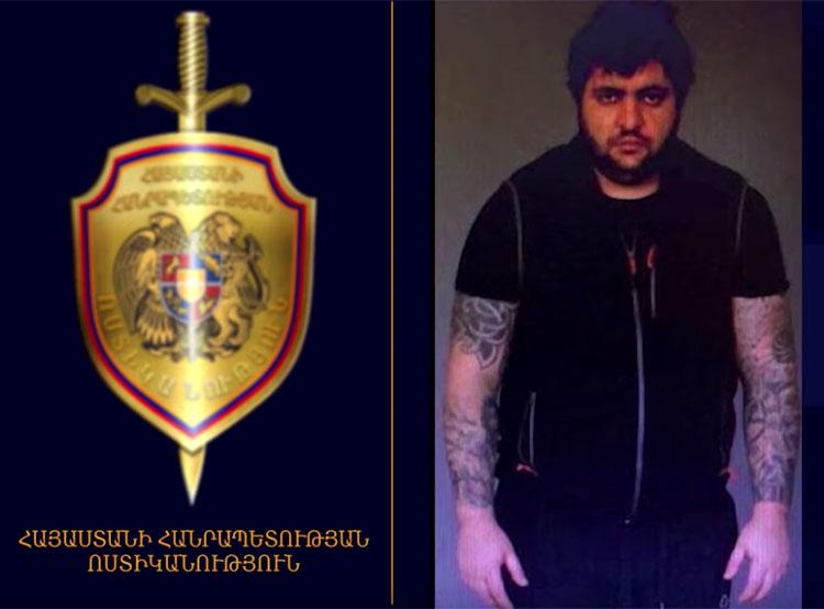 Племянник бывшего президента Армении скрывался в Праге с фальшивым гватемальским паспортом. Нарек Саргсян. Скриншот видео с официального YouTube-канала полиции Армении  9 декабря 2018 года