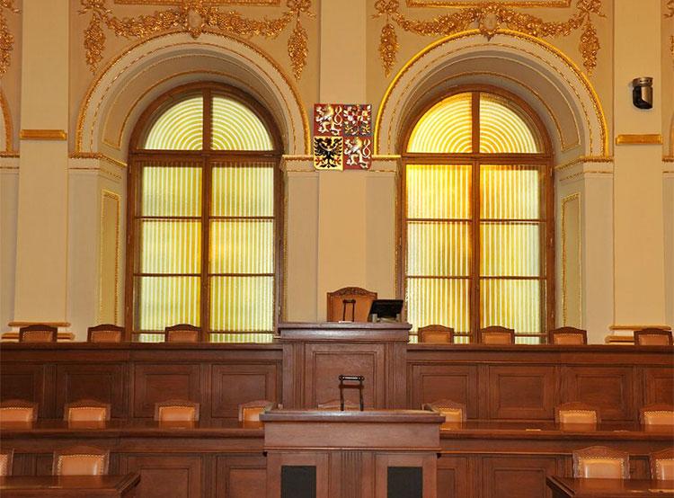 Чешское правительство в полном составе прогуляло прения в нижней палате парламента. Зал заседаний. Фото пресс-службы нижней палаты парламента (www.psp.cz)  10 декабря 2018 года