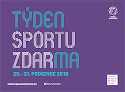 Прага в десятый раз проведет неделю бесплатного спорта. Изображение с сайта акции  21 декабря 2018