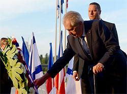 Уровень доверия президенту Чехии достиг 55%.  Президент Чехии Милош Земан.  22 декабря 2018