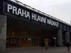 Чешские железные дороги рассказали о расписании на Рождество и Новый год.  Главный вокзал в Праге.  Фото: Utro.cz.  23 декабря 2018