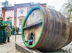 Профессия производителей бочек для чешского пива может попасть в список культурного наследия ЮНЕСКО. Бондари. Фото пресс-службы Plzeňský Prazdroj  28 декабря 2018