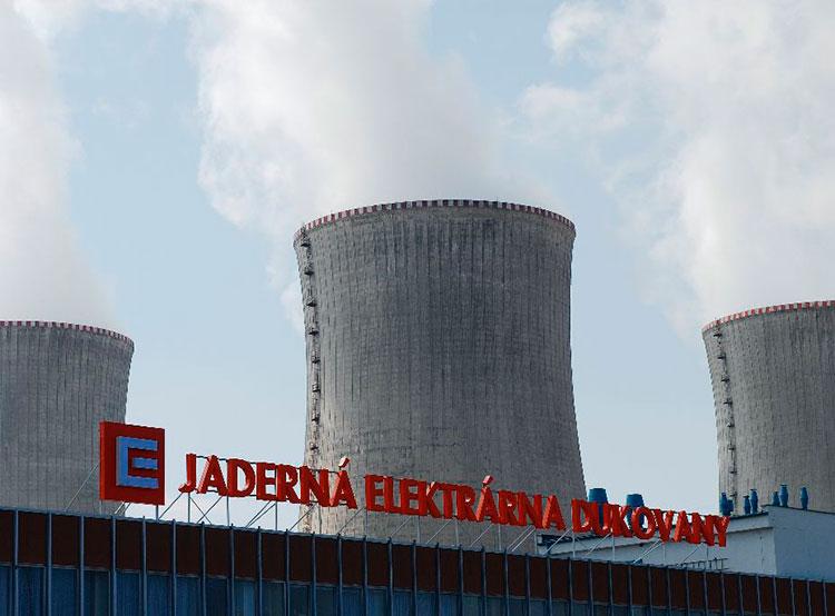 Чешские ядерные электростанции в 2018 году увеличили производство энергии на 6%. Ядерная электростанция Дыкованы. Фото пресс-службы группы ČEZ  3 января 2019 года