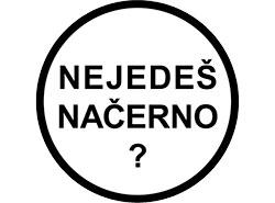В Праге стало меньше безбилетников в связи с возможностью «уполовинить» штраф. Логотип кампании «Не ездишь по-черному?» в Праге. Изображение с сайта www.nejedesnacerno.cz  14 января 2019