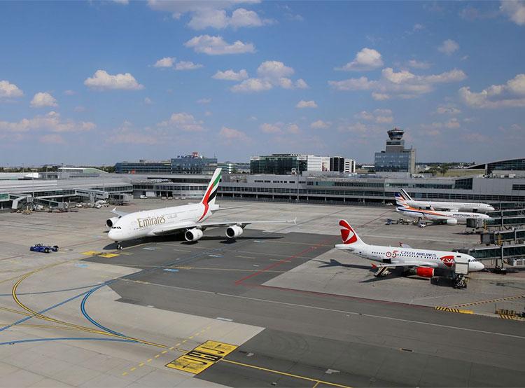 Москва заняла третье место в списке самых популярных направлений аэропорта Праги. Панорама аэропорта Праги  Фото: Аэропорт Вацлава Гавела  16 января 2019