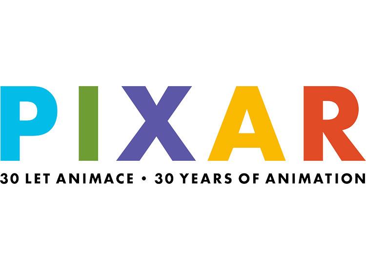 В Праге пройдет выставка, посвященная студии Pixar. Логотип выставки Pixar в Праге  18 января 2019