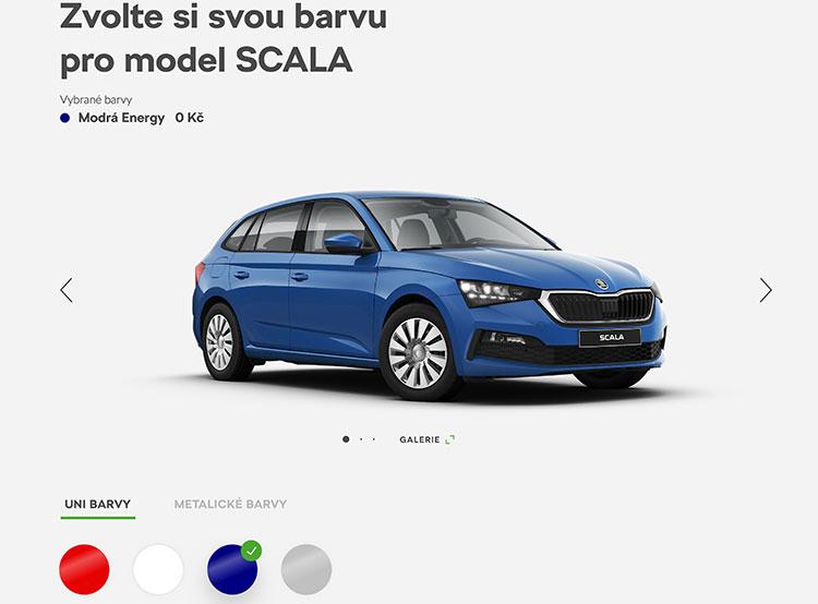 Škoda начала принимать заказы на новый хетчбэк Scala. Škoda Scala в онлайн-конфигураторе. Фото Škoda Auto  18 января 2019