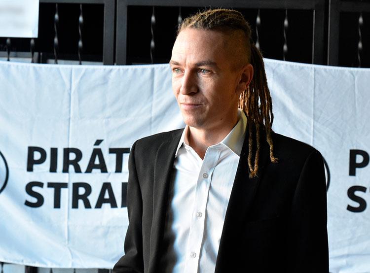 Пиратская партия объявила о планах выиграть выборы в Европарламент и в парламент Чехии. Глава пиратской партии Иван Бартош. Снимок из фотопотока партии на flickr.com  19 января 2019