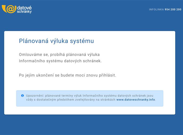 «Датове схранки» с 21 января будут работать на смартфонах и планшетах. Сайт www.mojedatovaschranka.cz в процессе обновления  19 января 2019